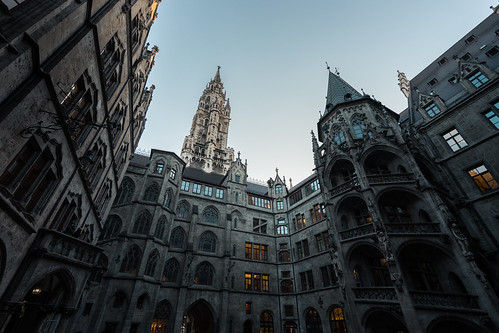 Munich Townhall / Rathaus from Toni Hoffmann