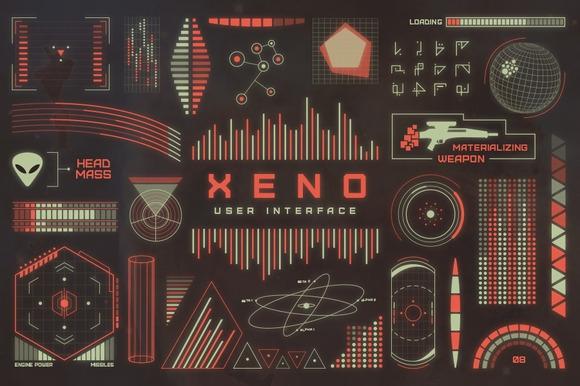CreativeMarket Xeno UI