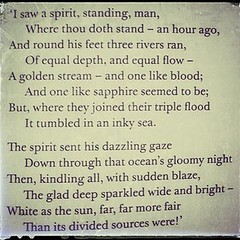 An extract from #thephilosopher by #emilybrontë
