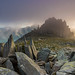 'Castle In The Clouds' - Glyderau, Snowdonia by Kristofer Williams