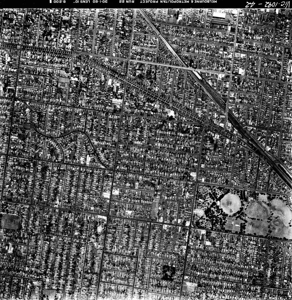 aerial photograph | 30 January 1960 | St Kilda's History