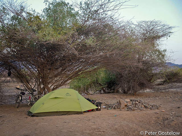 Bush Camp near Lake Turkana