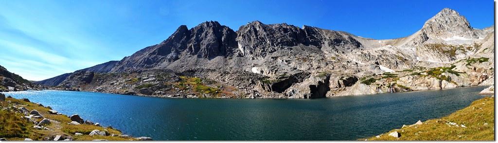Panorama of Blue Lake 8