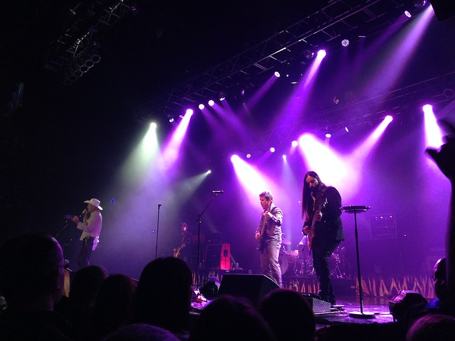 The Tragically Hip at HOB, 1/24/15