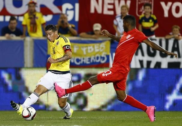 James Rodríguez sufre rotura muscular en la pierna izquierda