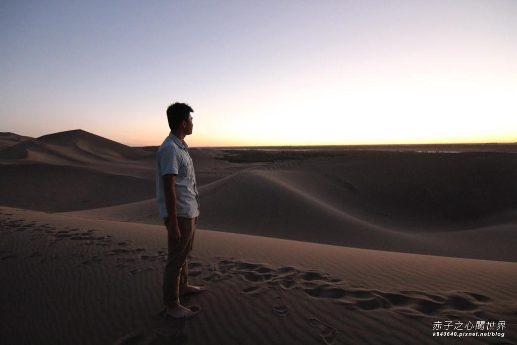 絲路-敦煌鳴沙山月牙泉-沙漠露營16