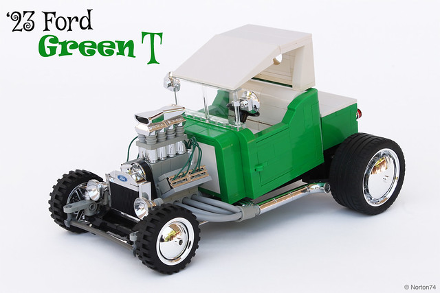 """Green T"" - '23 Ford T-bucket"