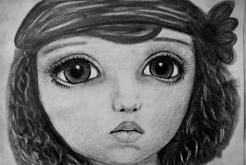 art doll sketch