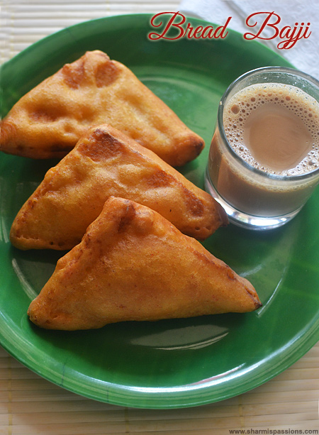 Bread Bajji Recipe
