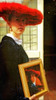 Vermeer's Girl with the red hat came to life by kelsk