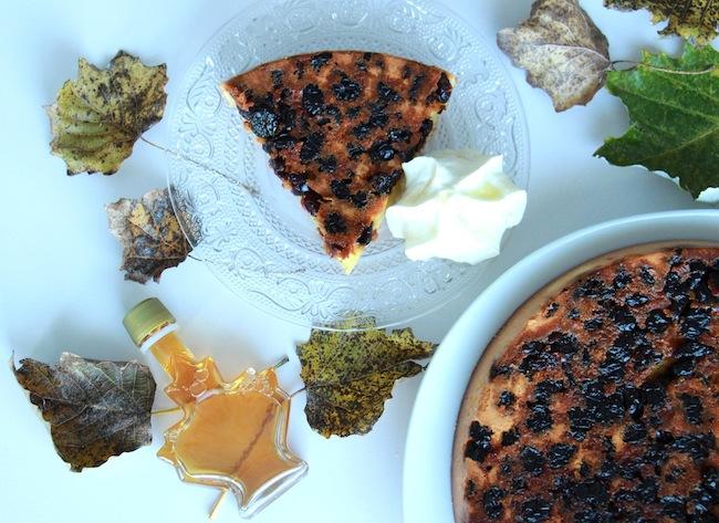 Gâteau d'automne aux cranberries_et_chantilly_au_sirop_d_érable_la_rochelle_1