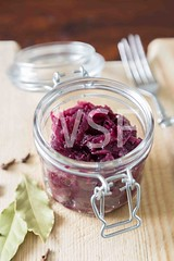 Red cabbage in the Jar