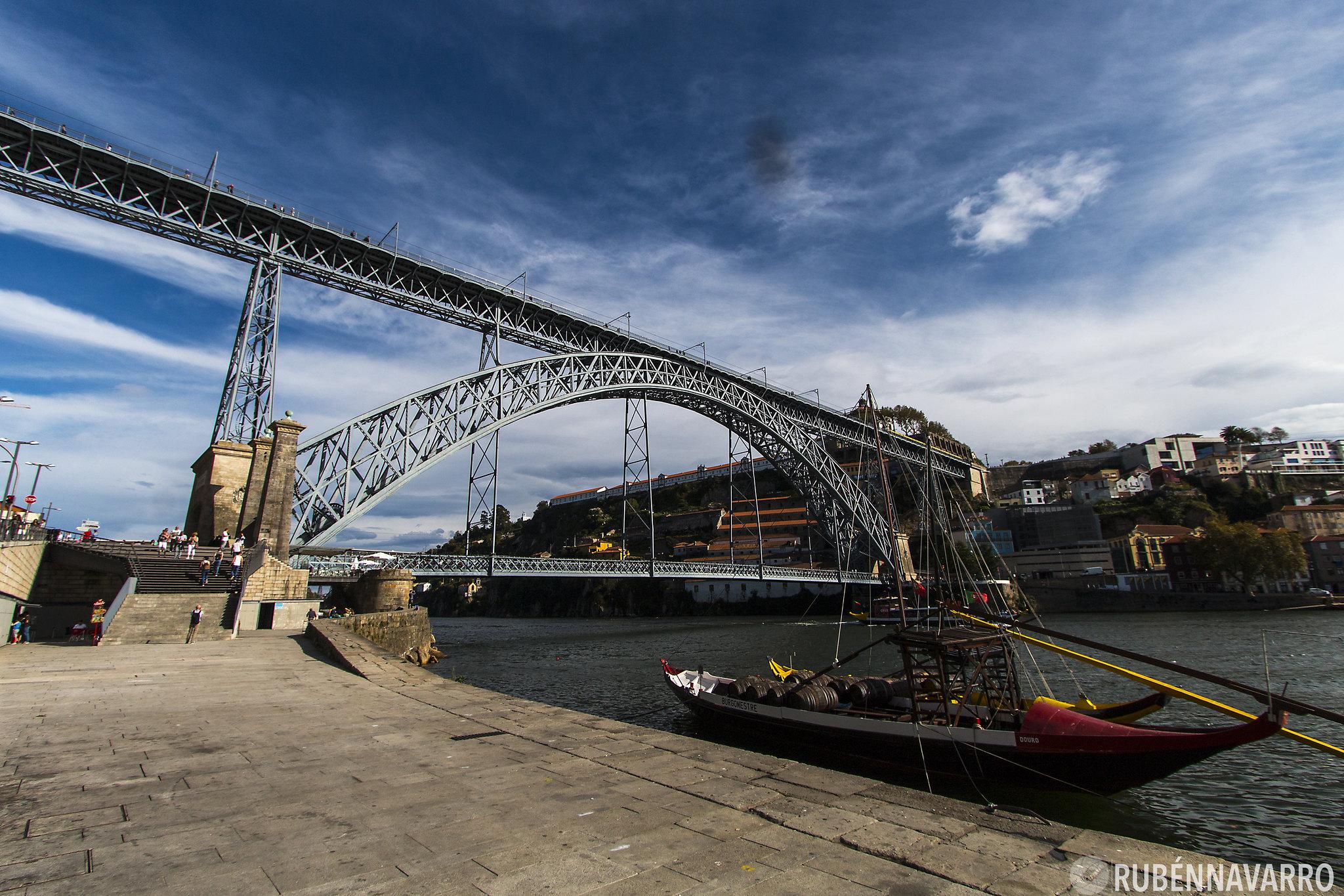 qué ver en Oporto - Puente