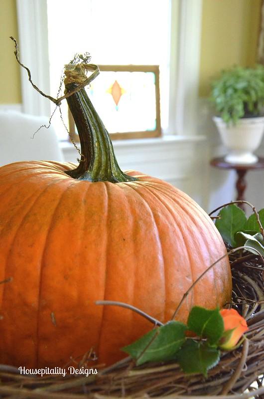 Pumpkin Centerpiece - Housepitality Designs