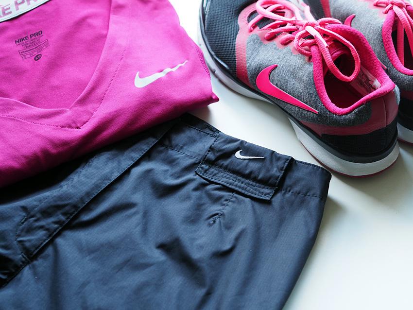 Niken-urheiluvaatteita