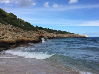 Bild av Cala Mendia. santa de islands porto cristo calas mallorca islas cales baleares balearic manacor ponsa ponça calviá