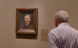 Chicago - Art Institute of Chicago Van Gogh Selfportrait