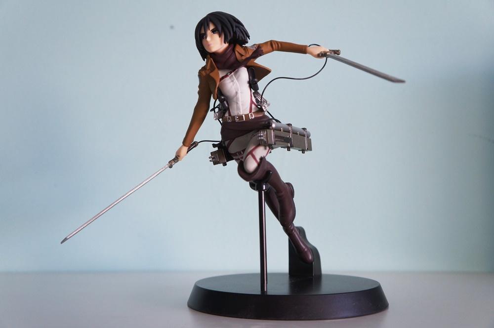 Mikasa Ackerman figure from Sega