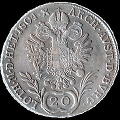 1804 Austrian Empire 20 Kreuzer