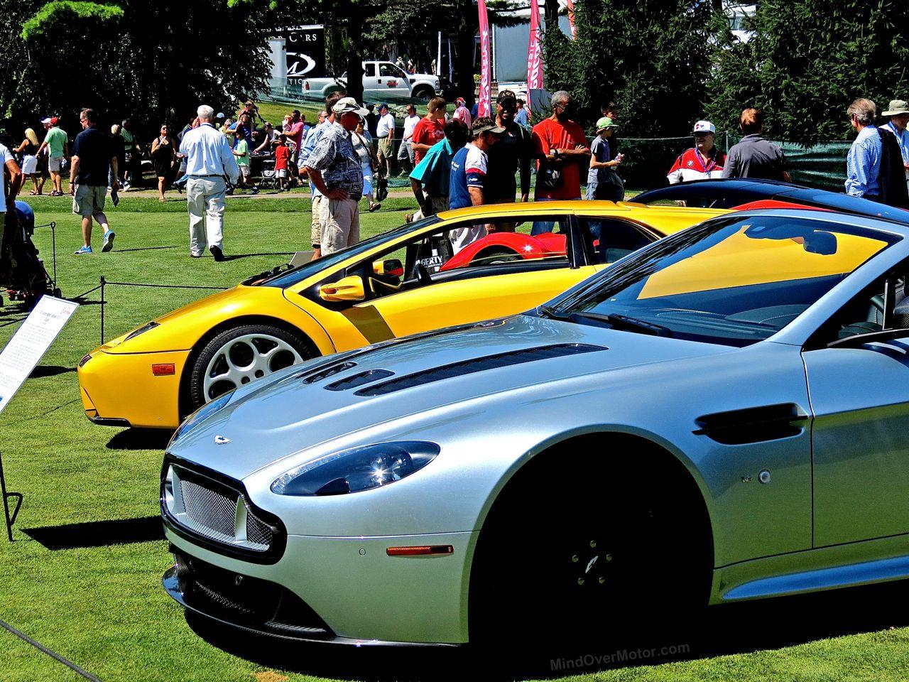 Aston Martin V12 Lamborghini Diablo Concours of America