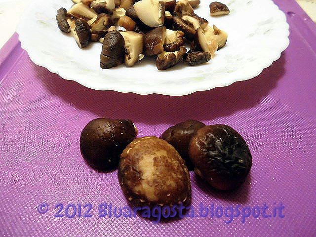 01-funghi shiitake reidratati