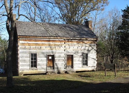 kentucky civilwar logcabins taylorcountyky atkinsongriffinloghouse battleoftebbsbend
