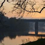 Scenic rail bridge at Preston