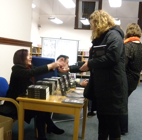 Alex Nye book launch at Dunblane Library