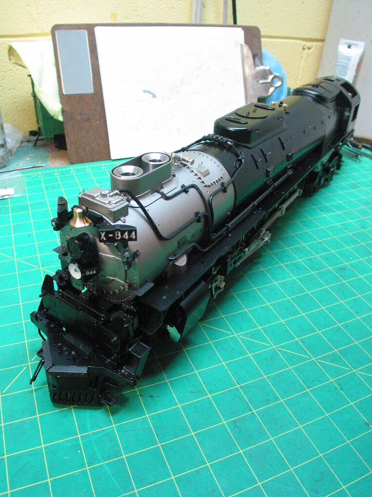 Aster FEF Steps 28-32 | Kit build of live steam locomotive | Flickr