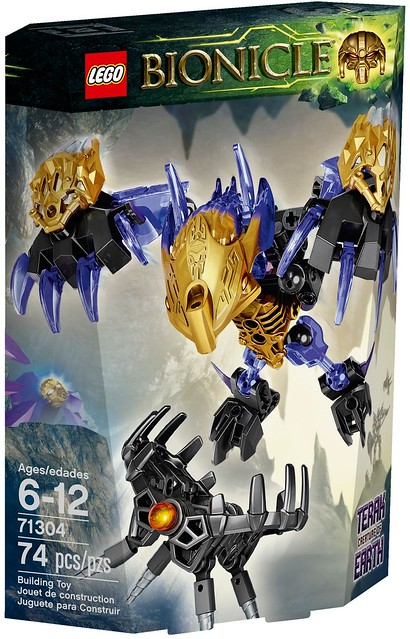 LEGO Bionicle 2016 | 71304 | Terak - Creature of Earth