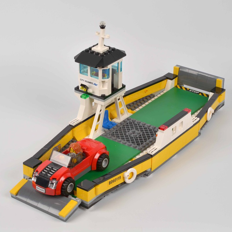 Review 60119 Ferry Brickset Lego Set Guide And Database