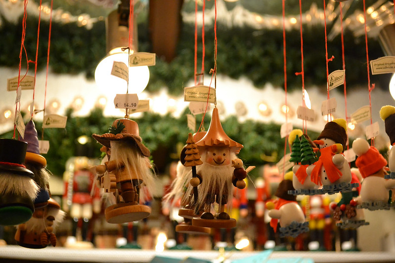 Christmas market in Stuttgart, Germany. Credit blankdots