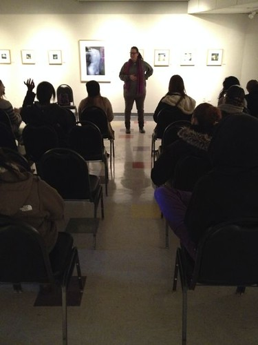 Artist Talk to NCC Fine Art students 2014
