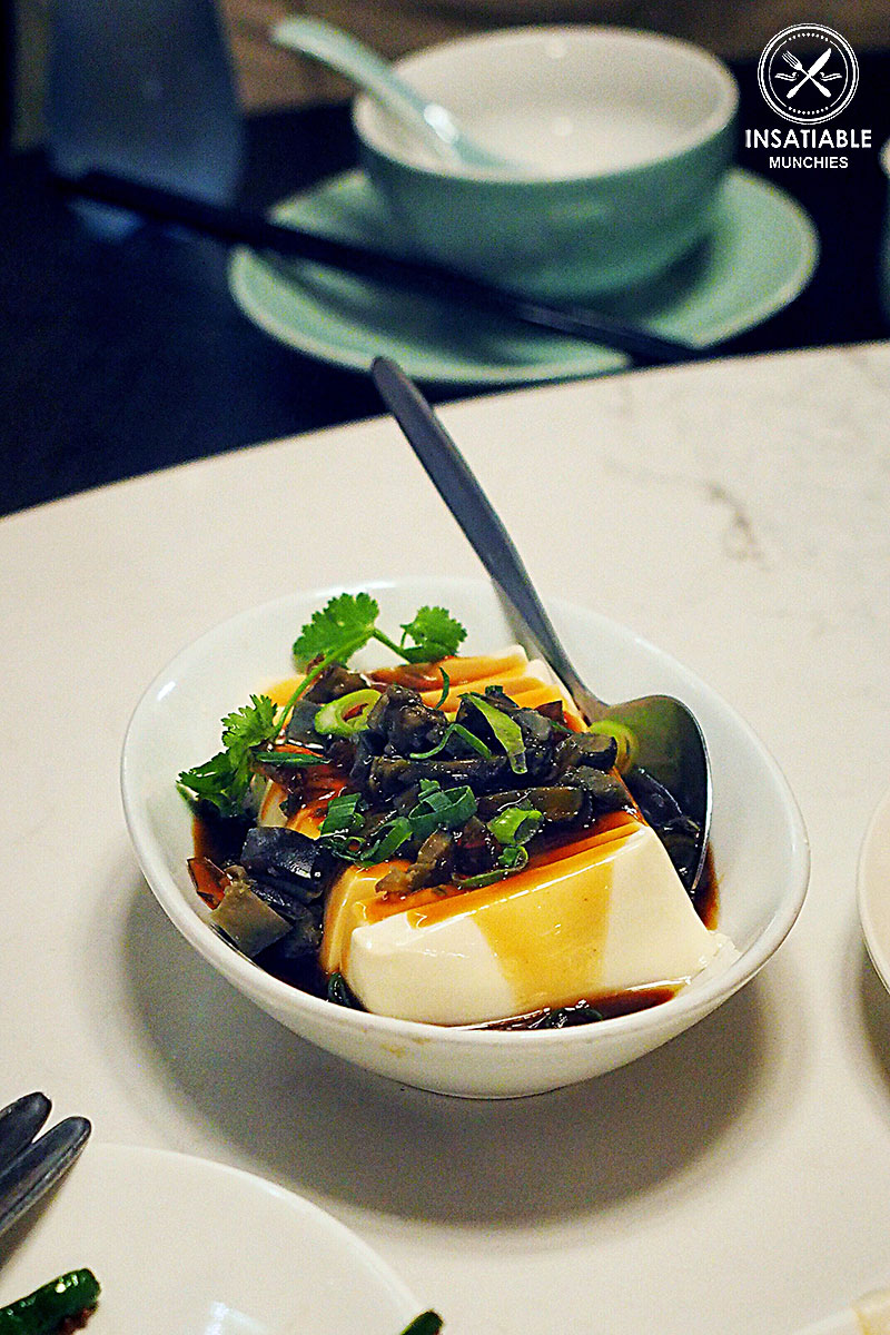 Tofu with Preserved egg, Taste of Shanghai, World Square. Sydney Food Blog Review