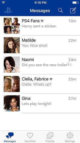 Introducing the PlayStation Messages iOS and Android app