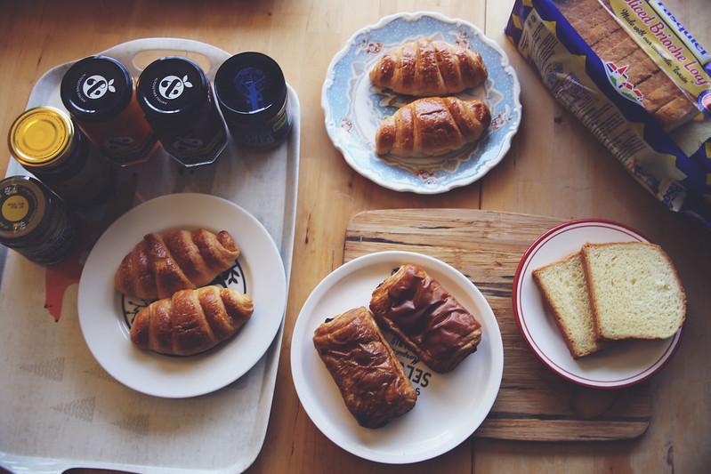 Breakfast with Brioche Pasquier