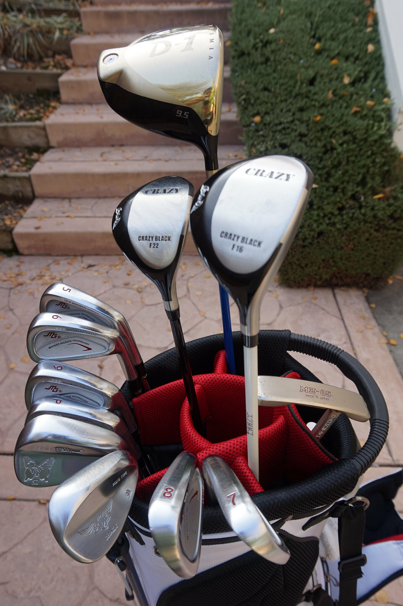 2015 Japanese Golf Clubs Recap What I Learned And Played Motgolf Spinner Iron Hiro Classics Bag B