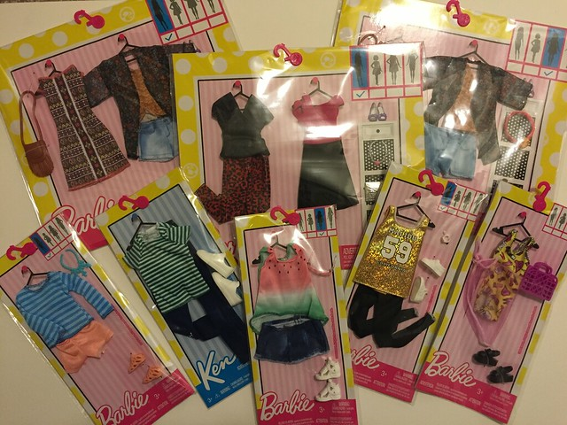 9. New Barbie Outfits from Walmart