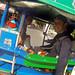 En tuktuk por Ao Nang