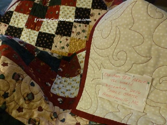 Labeling Quilts and Documenting ~ From My Carolina Home