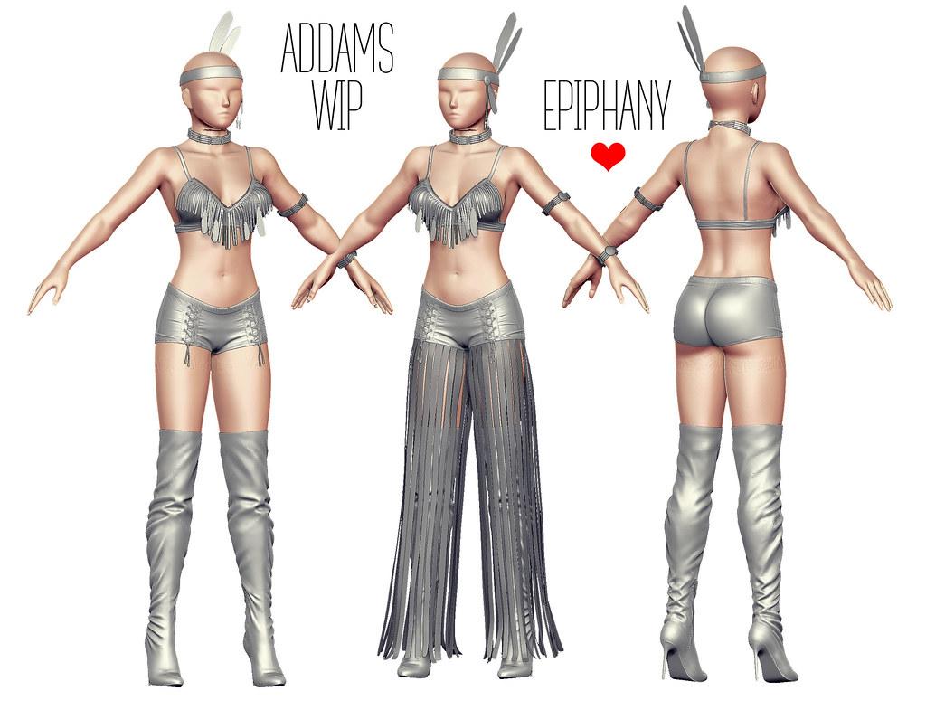 ADDAMS @ Work in Progress - Epiphany♥ - SecondLifeHub.com
