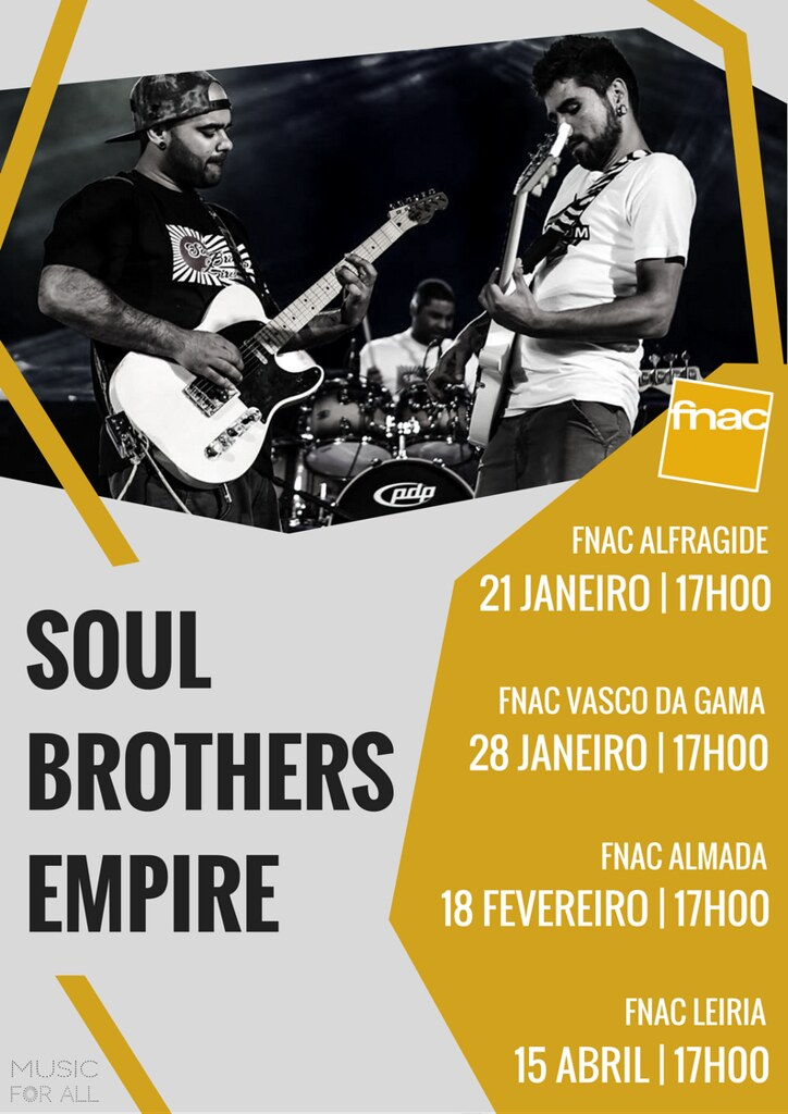 Soul Brothers Empire_ Flyer Showcases FNAC