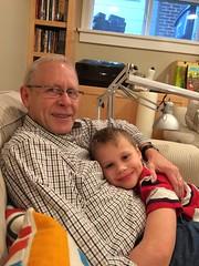 Charlie and Grandpa