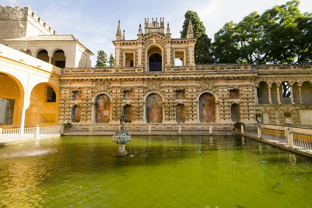 Estange de Mercurio Garden - Alcazar Sevilla