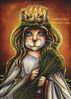 Saint Lucy Cat