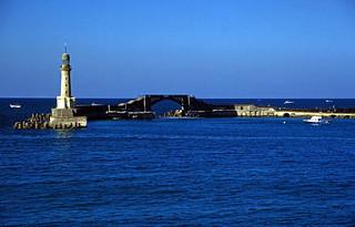 Ägypten 1999 (725) Alexandria: El Montaza-Leuchtturm