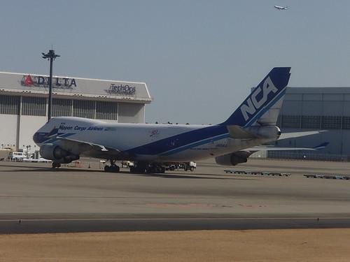 最新的747 B747-8F - naniyuutorimannen - 您说什么!