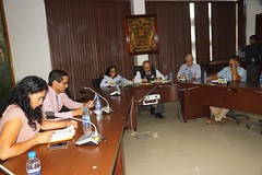 En Chone Municipalidad aprobó firma de convenio y denominación de calles