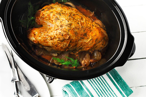 Slow and easy turkey breast with dill 1