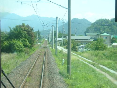 仙山線を行く